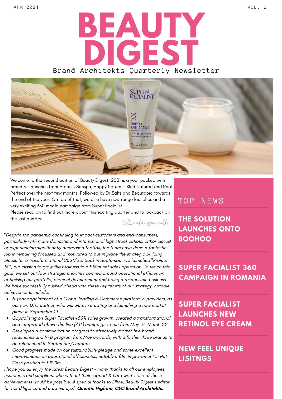 Beauty Digest Volume 2 April 21