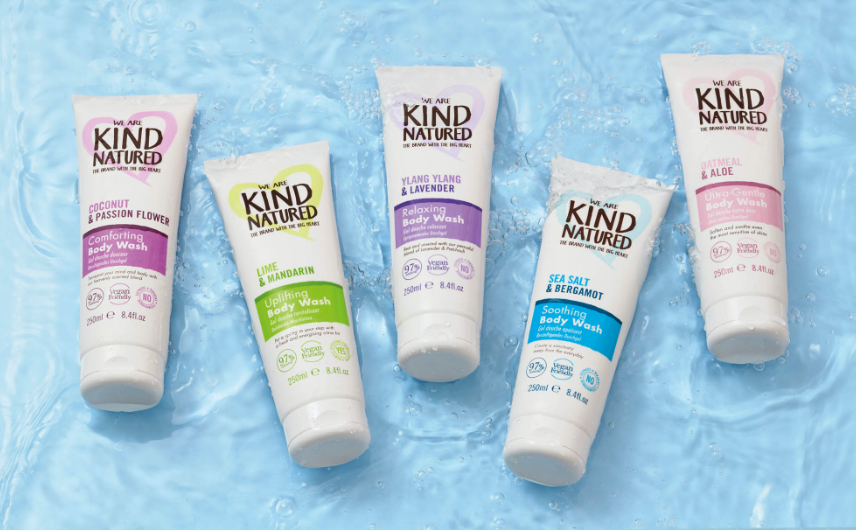 Kind natured Body Washes 2x